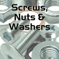 Screws, Nuts & Washers