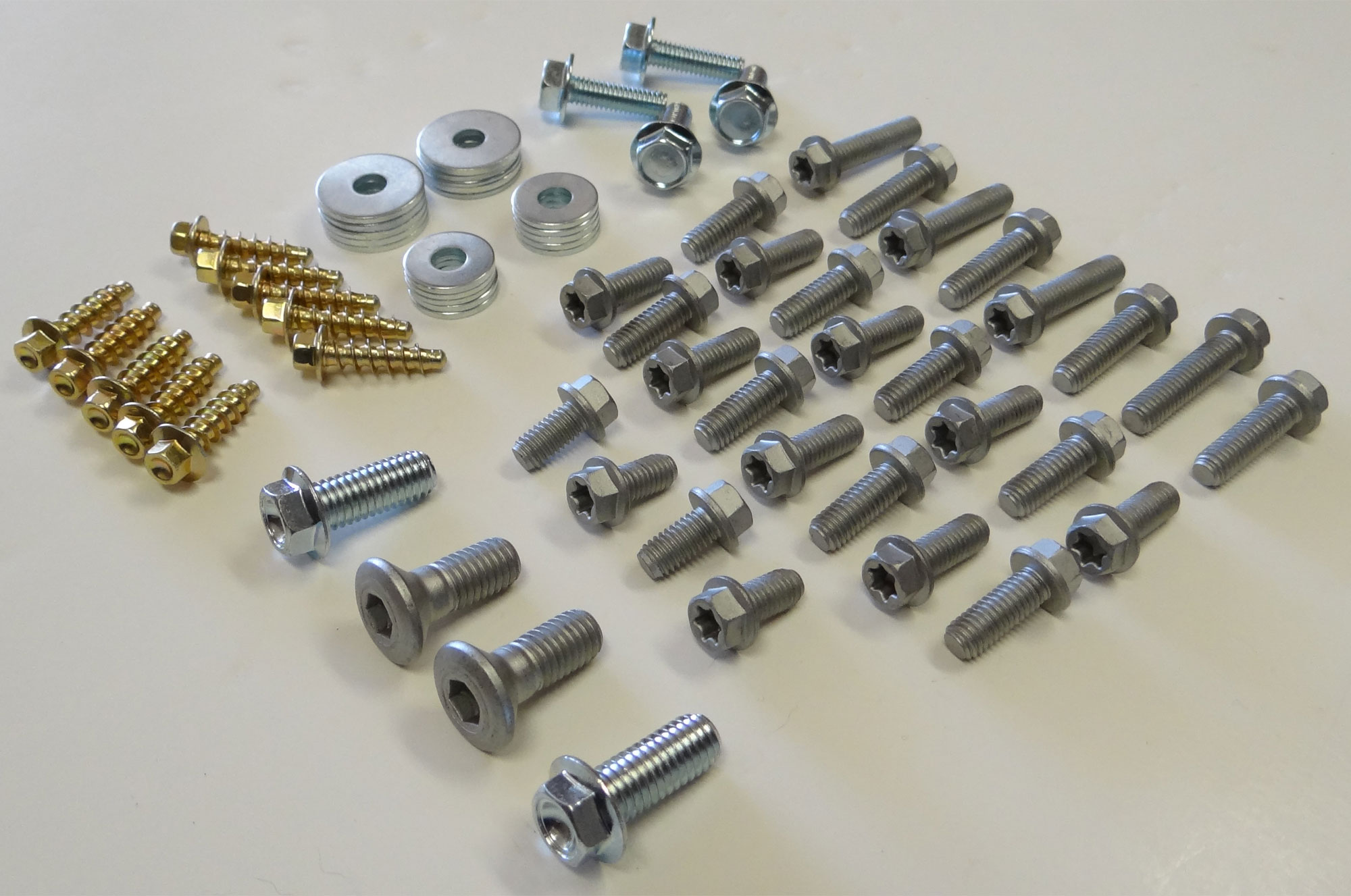 KTM 66 pc Body and Plastics bolt kit