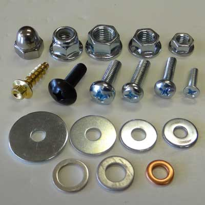 Screws Nuts and Washers